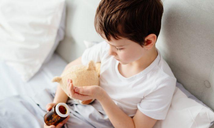 The volume of antipsychotic drugs being prescribed to children has skyrocketed. (Daniel Jedzura/Shutterstock)