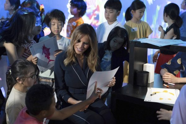 Melania Trump Japanese School 2