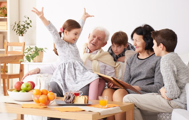 To make visits with grandchildren a pleasure rather than a pain, it's helpful to be considerate of their parents. (Photographee.eu/Shutterstock)