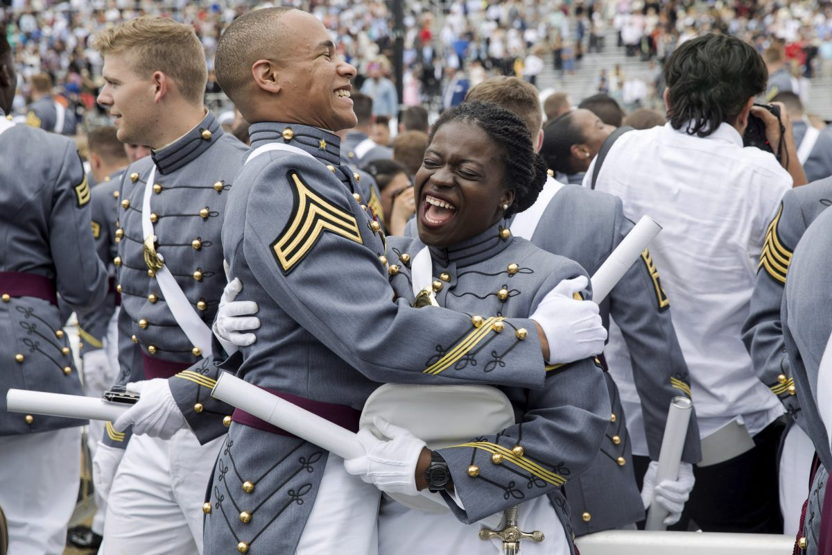 West Point graduation ceremony