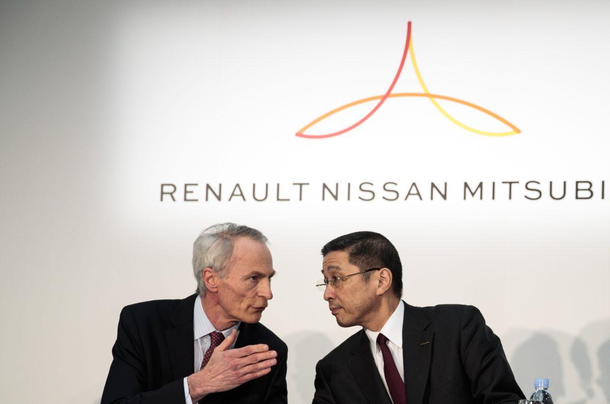 JAPAN-FRANCE-NISSAN-RENAULT-MITSUBISHI-AUTOMOBILE