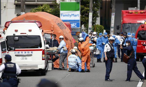 stabbing in Kawasaki Japan