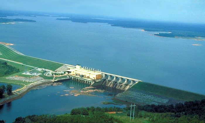 West Point Dam. (Adrien Lamarre/U.S. Army Corps of Engineers)