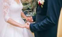 Nervous Groom Makes Bride Totally Confused When He Says They're Now a 'Family of 3'