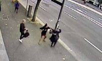 Cameras Capture Vicious Street Attack on Pregnant Woman in Australia