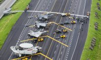 Taiwan Lands Aircraft on Highway as Part of Military Drills to Counter China