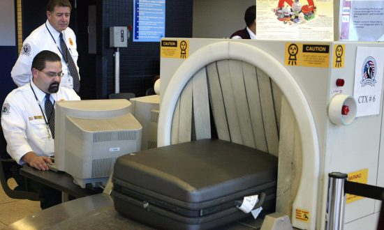Terrifying 'Traveler' Goes Through X-Ray at Airport Security, a Frightful Sight for TSA