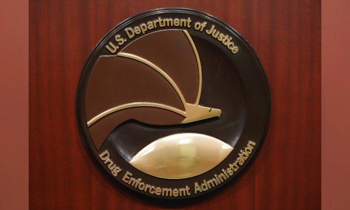 Seal of the Drug Enforcement Administration. (Mandel Ngan/AFP/Getty Images)