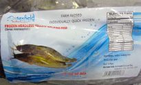 160,000 Pounds of Frozen Fish Recalled Over Fears for Food Safety