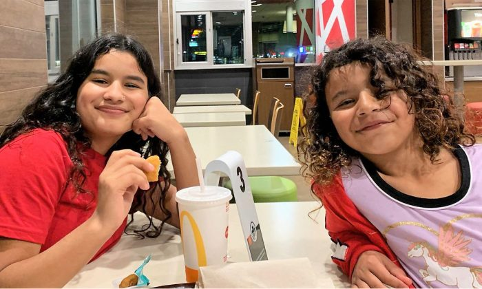 Hiba Rashid, 14, and Rahaf Rashid, 7, have been found safe after earlier being reported missing, police said. (Austin Police Department)