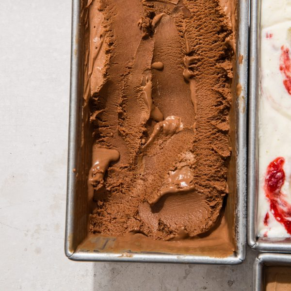 dark chocolate no churn ice cream