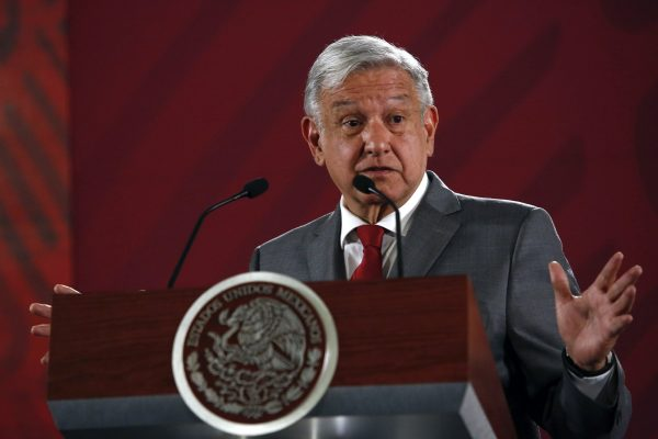Mexico's President Andrés Manuel López Obrador says Mexico will not respond to U.S. President Donald Trump's threat of coercive tariffs