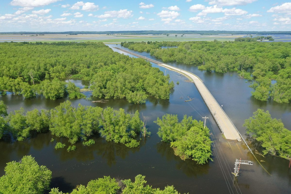 Midwest Rivers Reach Major Flood Stage At Historic Levels