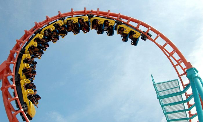 File photo of a rollercoaster at an unspecified location, taken on June 11, 2009. (Pixabay/CC0)