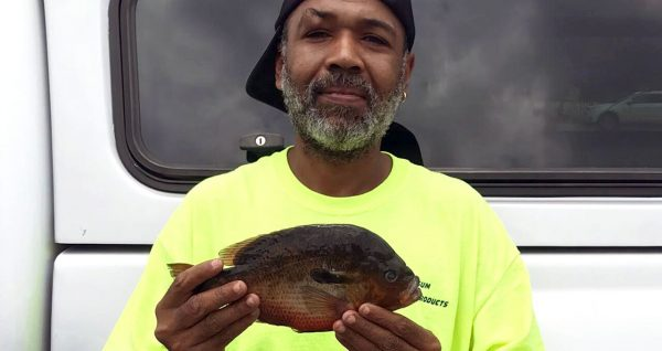 Alphonso Jackson Maxton fisherman