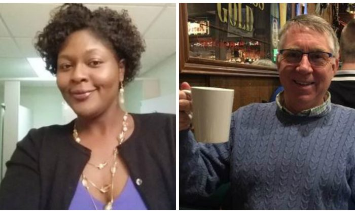 Laquita Brown, a right-of-way agent for the city of Virginia Beach (L) and Christopher Kelly Rapp, an engineer for the city, were two of 12 people killed in a municipal building on May 31, 2019. (City of Virginia Beach)