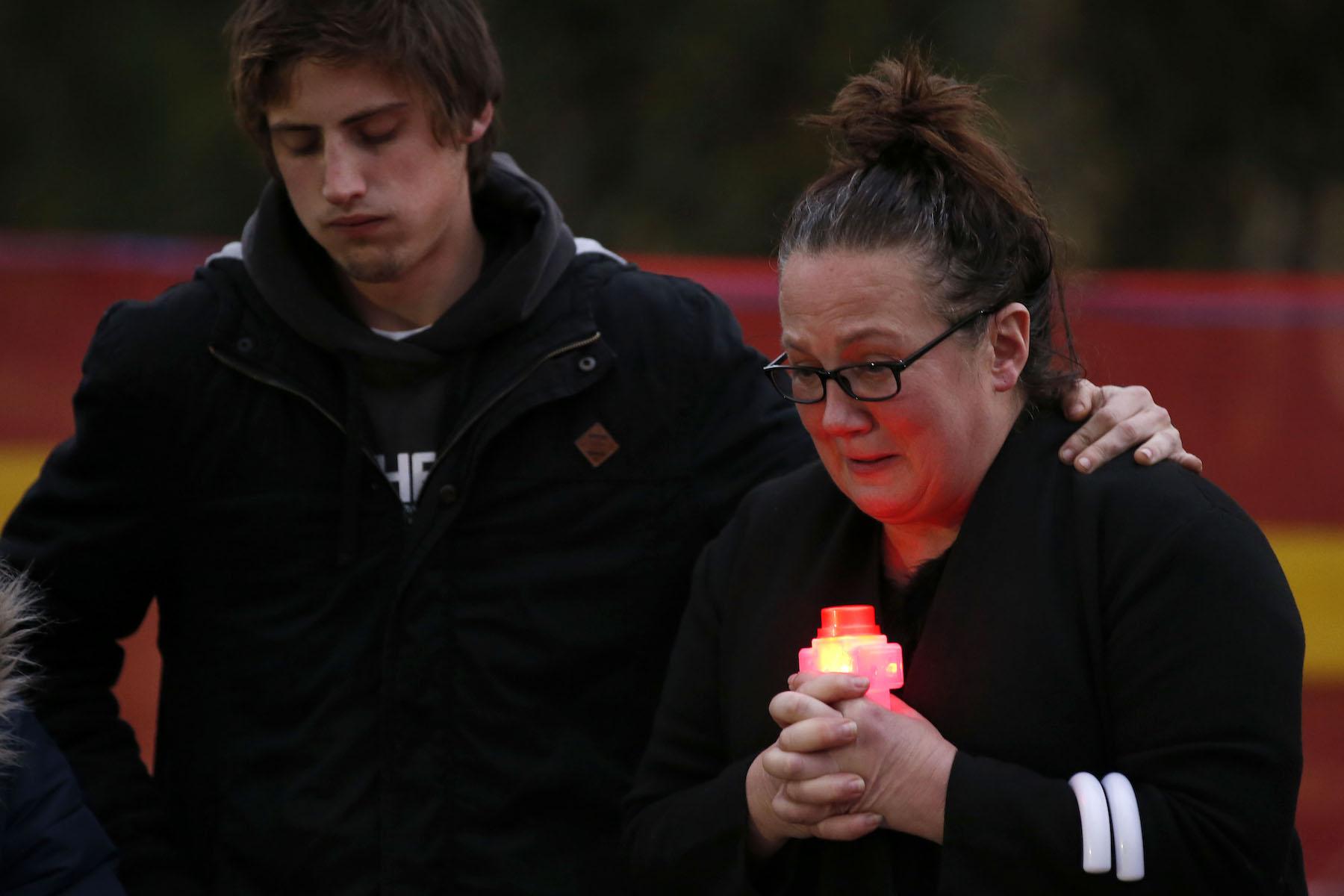 Melburnians Gather For Vigil Following Murder Of Courtney Herron