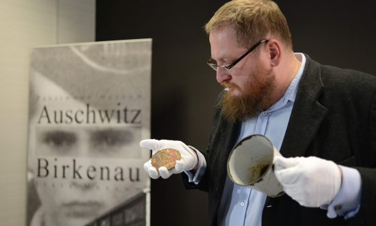 Mug at Auschwitz Has a 'Heart-Shaped' Rust Mark, X-Ray Reveals a Hidden Secret