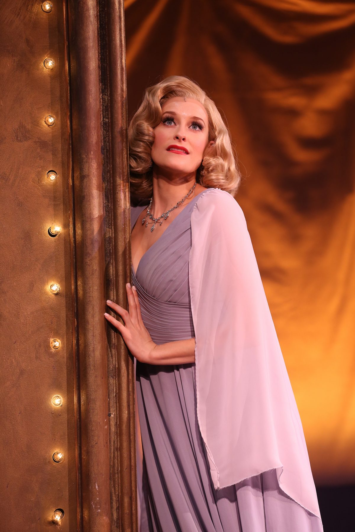 ENTER LAUGHING The glamorous Ms. B played by Dana Costello