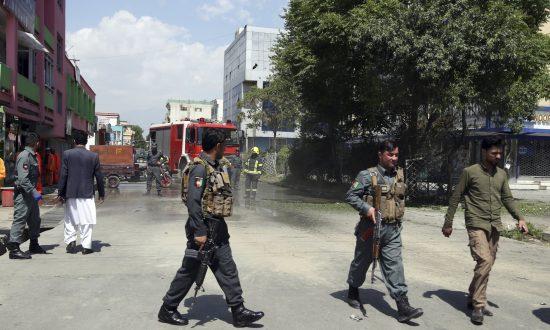 3 Bombings in Afghan Capital; 2 Killed, 2 Reporters Injured