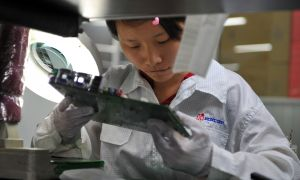 Foxconn Reportedly Halts Some Production Lines for Huawei Phones After Reduced Demand