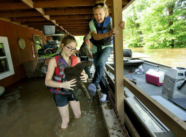 Mississippi river floodings 1