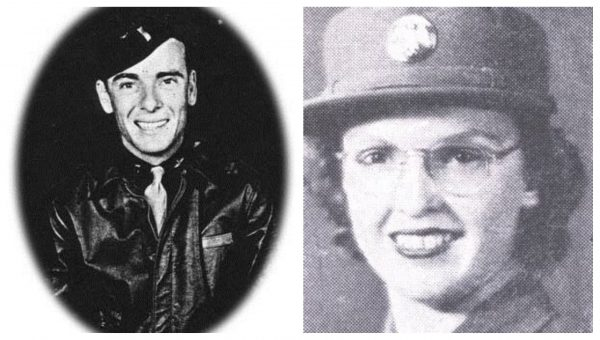Lt Joseph Heacock and Tec 5 Mary Schulyer