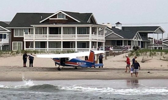 Plane Pilot Relieved After Making Emergency Landing on Popular New Jersey Beach