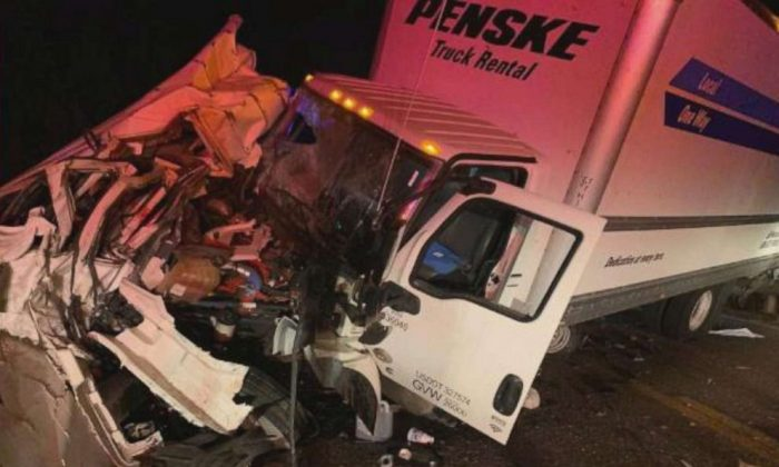 Eight people were killed in a head-on collision between a box truck and a passenger van on a rural highway near Scooba, Miss., on June 3, 2019.