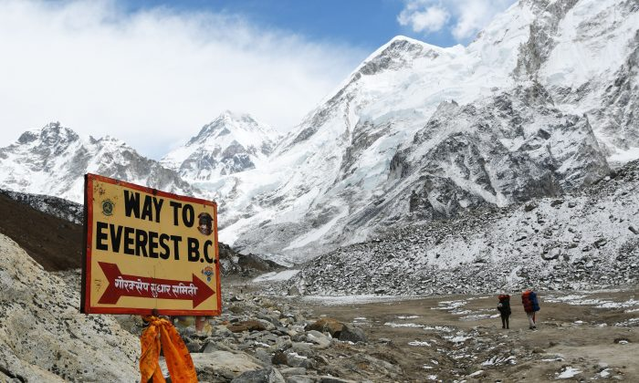 Physical training and tens of thousands of dollars are just a few of the things adventure-seekers need to conquer Mount Everest. (Prakash Mathema/AFP/Getty Images)