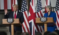 Trump Meets With May in London, Discusses Bilateral Trade Deal