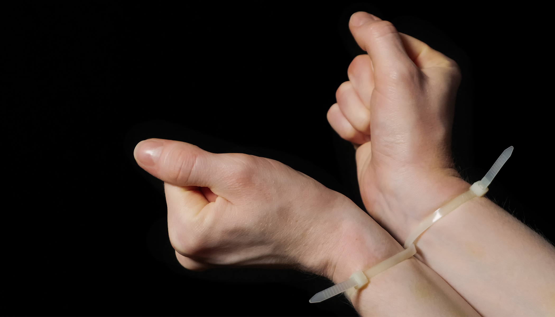 Easily Break Free From Zip Ties Around Your Wrist With This Simple Technique