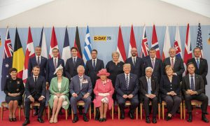 D-Day Alliances Still Strong, Leaders Say at Ceremony on Eve of Anniversary