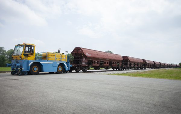 Barilla wheat transport train