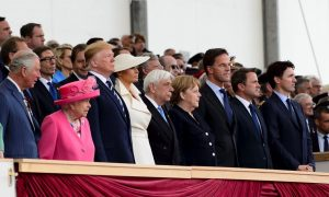 World Leaders Arrive in Portsmouth, U.K. for D-Day Commemoration