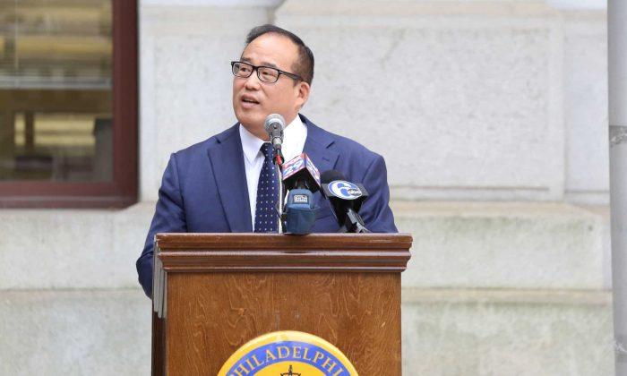 Philadelphia Councilman David Oh. (Courtesy of David Oh)