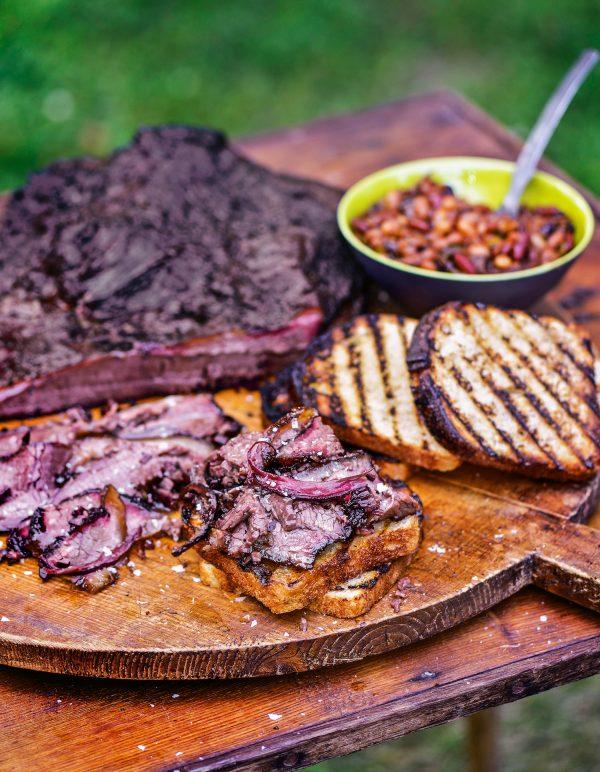 Big Kahuna barbecued brisket