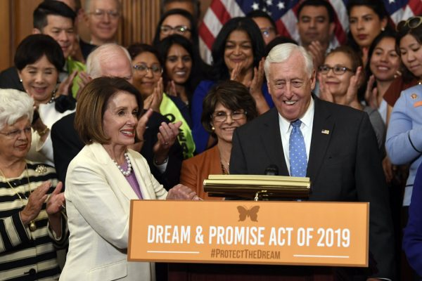 nancy pelosi after passing dream act