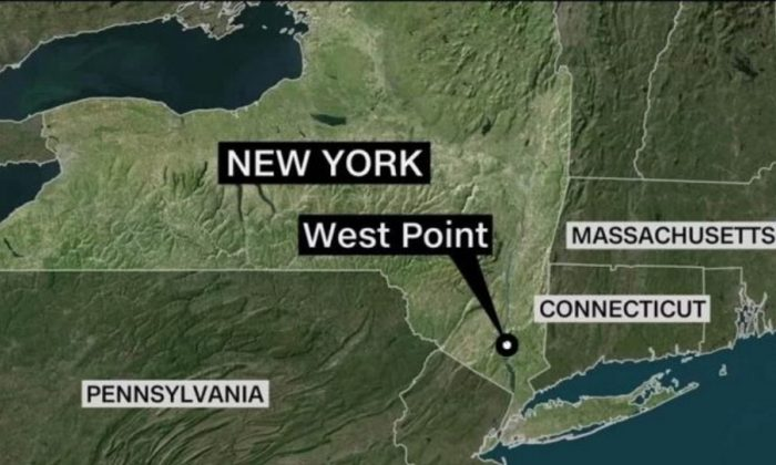 """The West Point Military Academy said there had been """"an accident in the vicinity of the Camp Natural Bridge training site,"""" on June 5, 2019.(CNN)"""