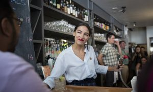AOC Returns to the Scene of the Minimum Wage Crime