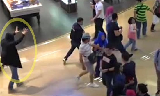 Superpowered 'Warlock' Wreaks Havoc in Shopping Mall