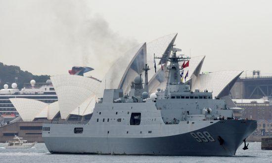 China Warships Leave Sydney After Surprise Visit 'Raises Hackles'