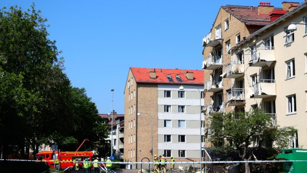 explosion in Linkoping, Sweden 1