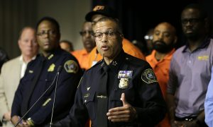 Detroit Police SUV Was Attacked During Protest, Chief Says