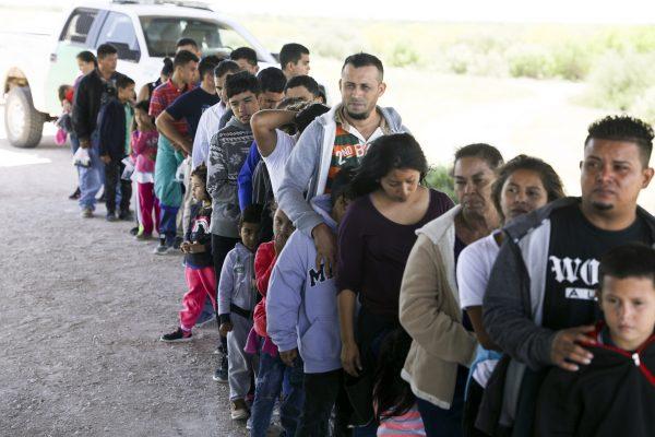 texas border mexico migrants
