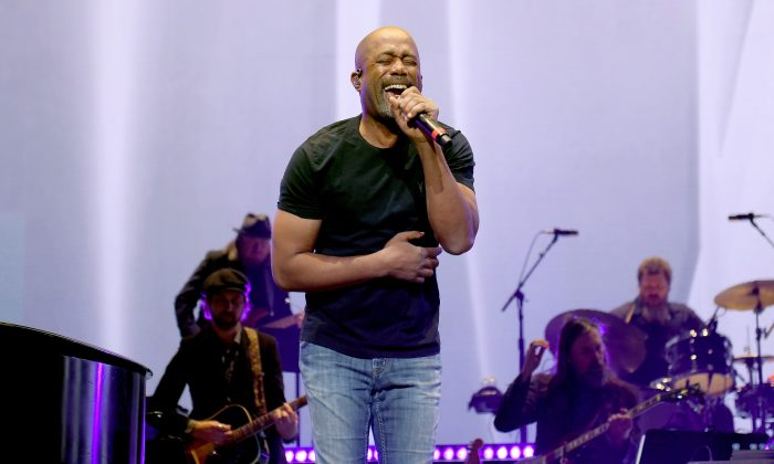 Darius Rucker performs onstage for Loretta Lynn: An All-Star Birthday Celebration Concert at Bridgestone Arena on April 1, 2019 in Nashville, Tennessee. (Jason Kempin/Getty Images for for Essential Broadcast Media, LLC)