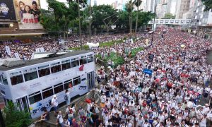 Over 1 Million Take to Streets of Hong Kong to Protest Extradition Bill