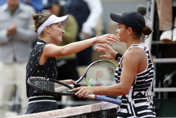 Women's final at the French Open