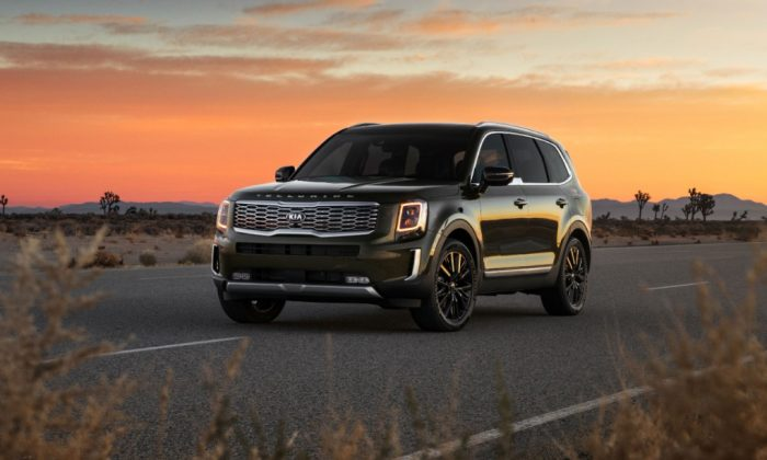 2020 Kia Telluride. (Courtesy of Kia)