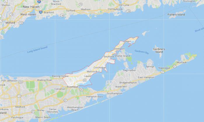 Long Island's North Fork. (Screenshot/Google Maps)